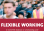 cover of the report into flexible working