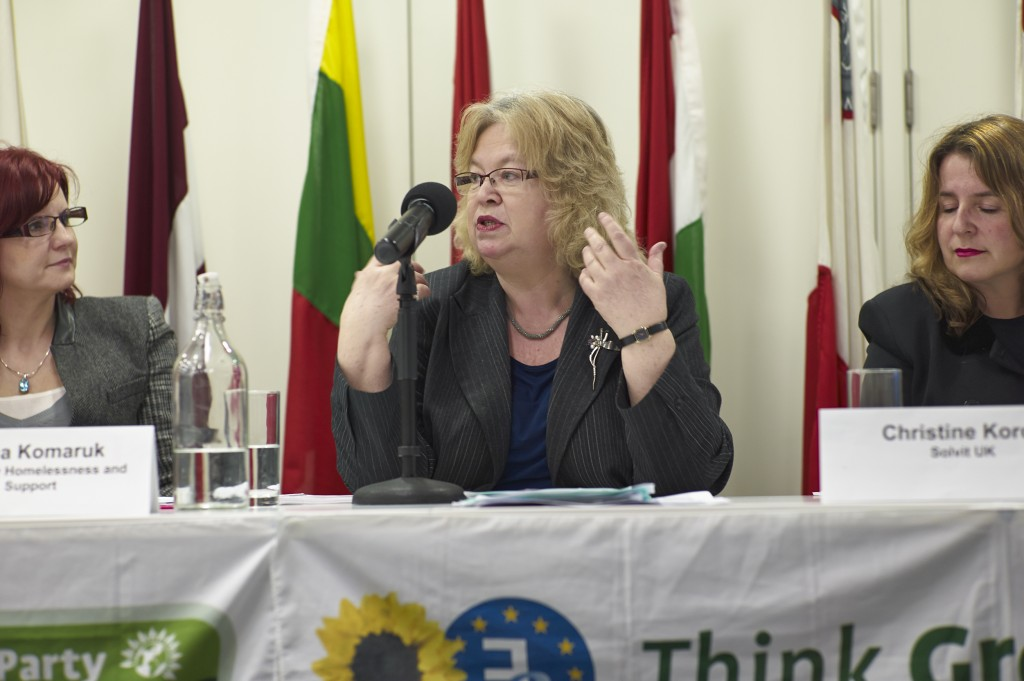 Green party hosts debate Europeans living in UK - rights