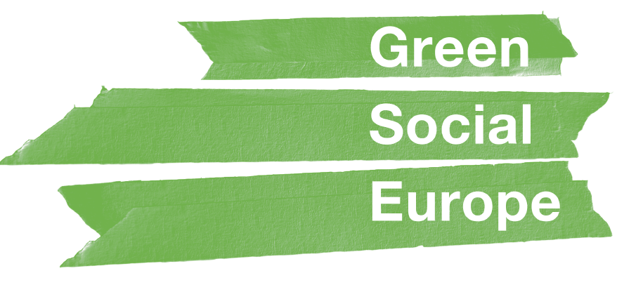 Green social Europe report cover