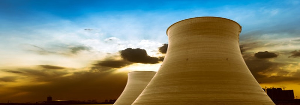 nuclear power - large chimneys