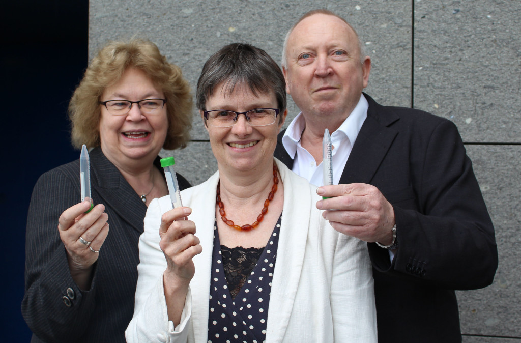 The three Green MEPs prepare to take part in glyphosate test