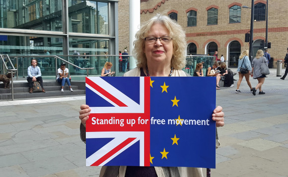 To mark the anniversary of the EU referendum, Jean's launched her new Free Movement hub