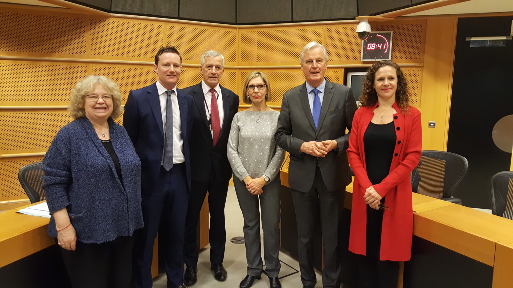 21st November 2017: As part of the European Parliament Citizens' Taskforce I met with the EU's Brexit negotiater – Michel Barnier – to discuss how to guarantee the rights of EU nationals and British nationals in other EU countries post-Brexit.