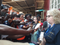Jean meets journalists in her role as Chief Observer of the EU's Election Observation Mission to Sierra Leone