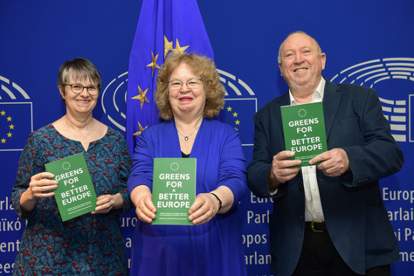 Greens for a Better Europe pic all three